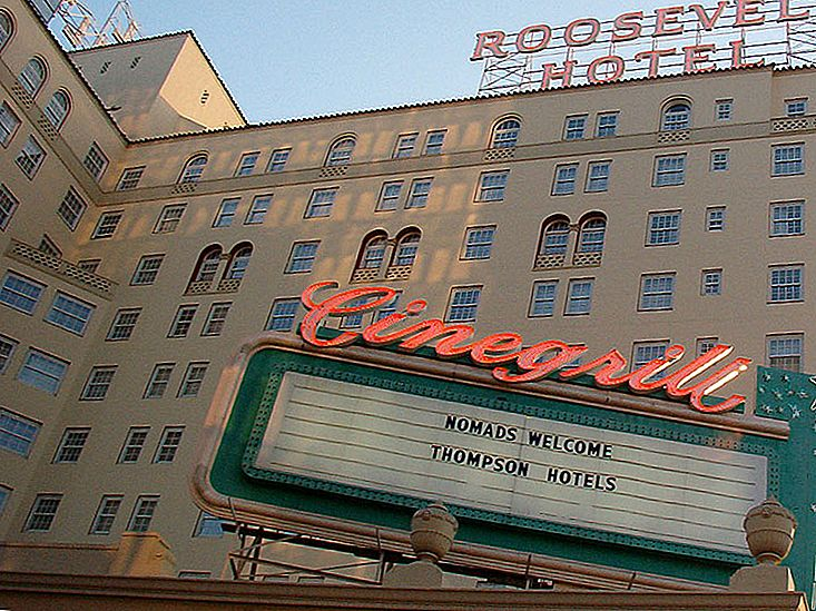 Hotel Roosevelt, Hollywood, California