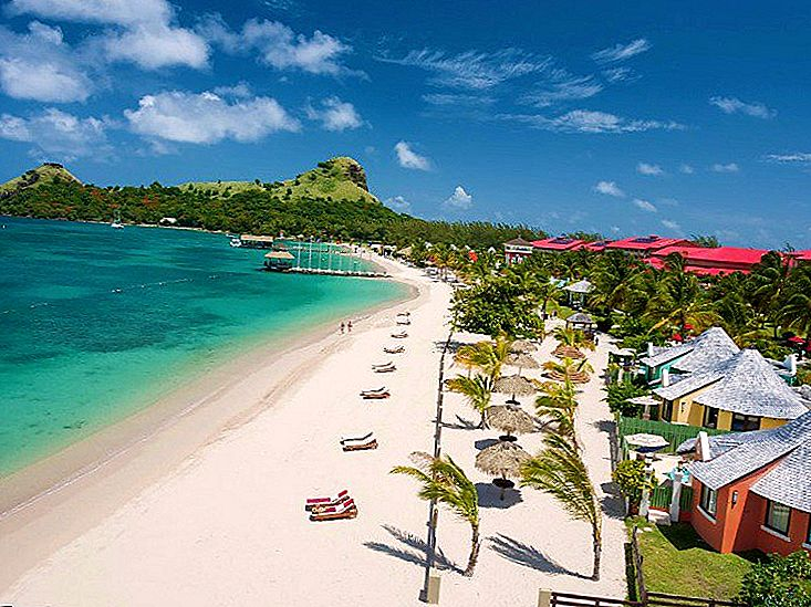 Sandals St. Lucian Spa & Beach Resort, เซนต์ลูเซีย