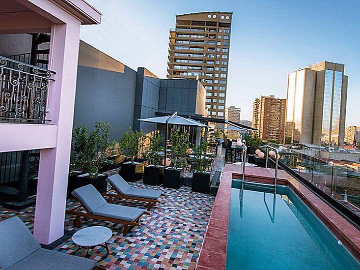 Cele mai bune 8 hoteluri din Santiago, Chile pentru aventura voastră