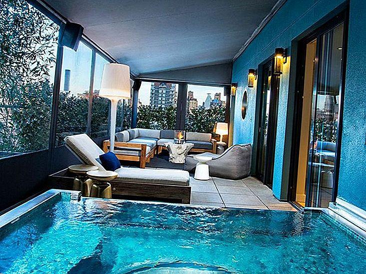 8 Cele mai bune hoteluri cu jacuzzi în cameră din S.U.A.