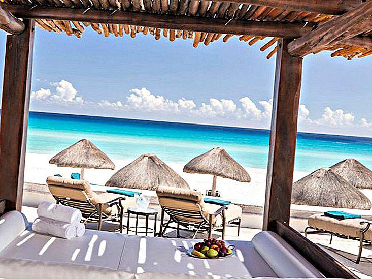Cele mai bune stațiuni de luna de miere din Cancun