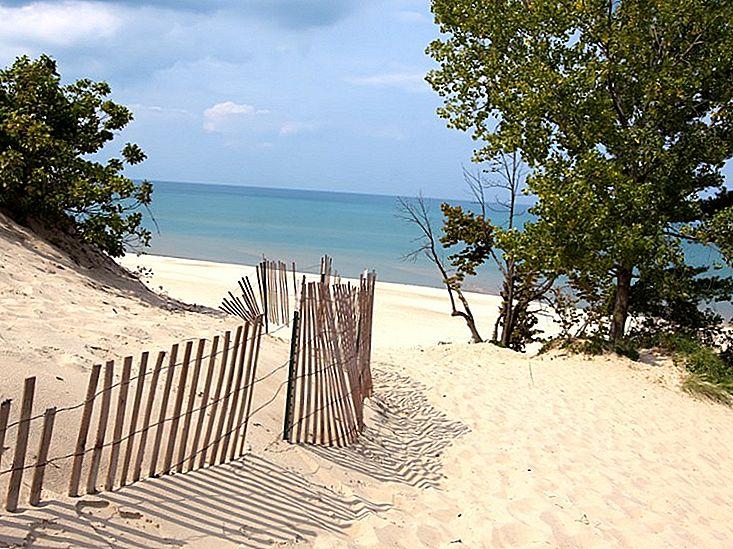 12 Cele mai bune plaje din Lake Michigan