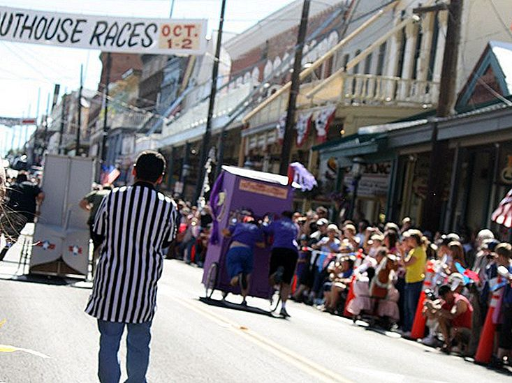 Outhouse Races, Virginia City