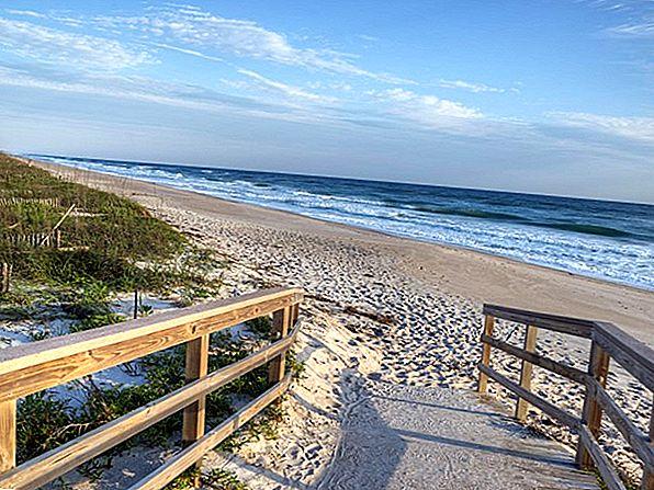 플로리다 최고의 12 대서양 해안 해변