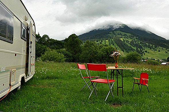8 Cele mai bune locuri de camping în Big Sur, California