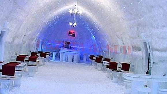 Hotelul Ice din Suedia este un castel înghețat în viață reală