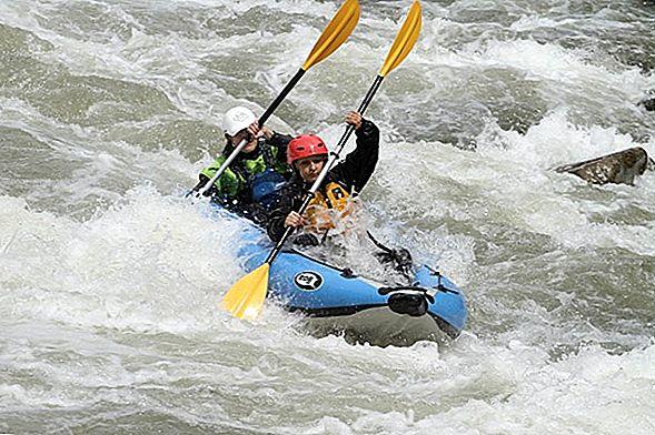 13 Невероятных Колорадских рек для рафтинга