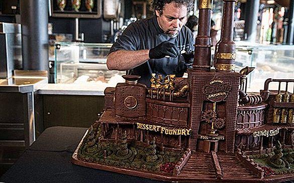 Toothsome Chocolate Emporium este un delicios dulce la Universal CityWalk