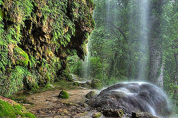 Gorman Falls ในเท็กซัสเป็นสิ่งมหัศจรรย์ทางธรรมชาติ
