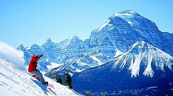 Snowboarding Lake Louise Aventura noastră de film fantastic
