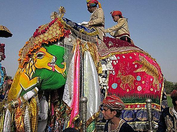 Festival祭りジャイプール、インド