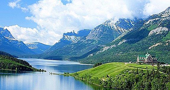 ウォータートン湖国立公園の驚異