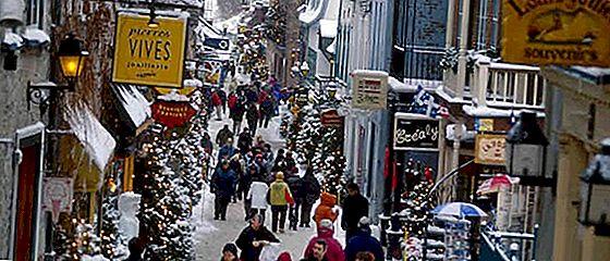 아름다운 퀘벡 시티, 겨울 원더 랜드