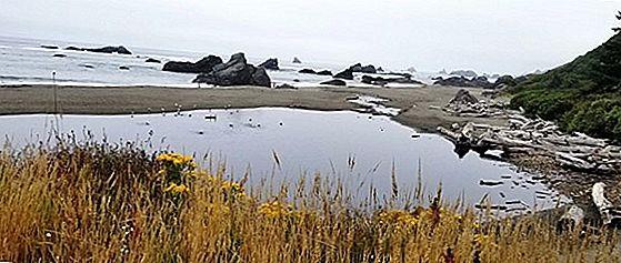 오리건 벤드의 용암 관 탐험