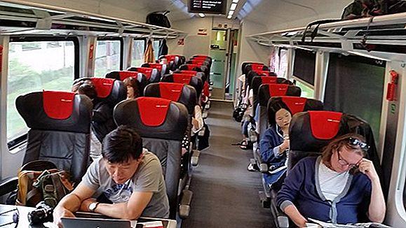유럽 열차의 1 등석과 2 등석