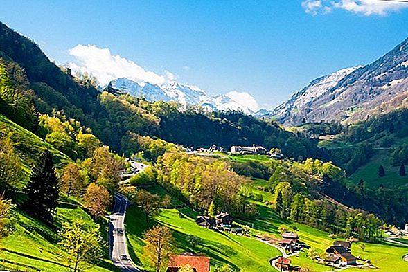 스위스 철도에서 길을 잃었다