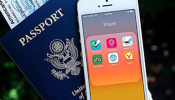 Aplicații pentru smartphone pentru călători