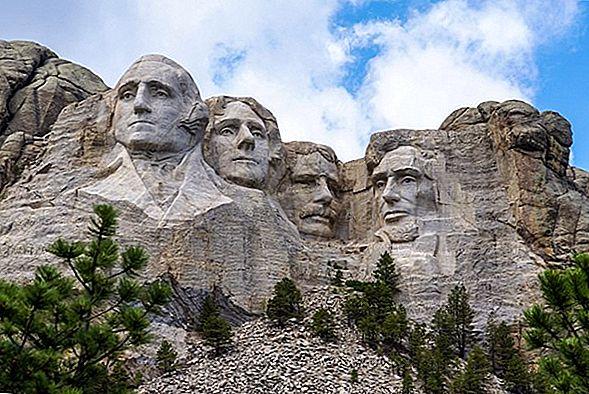 Muntele Rushmore și Crazy Horse - Monumente americane din Heartland