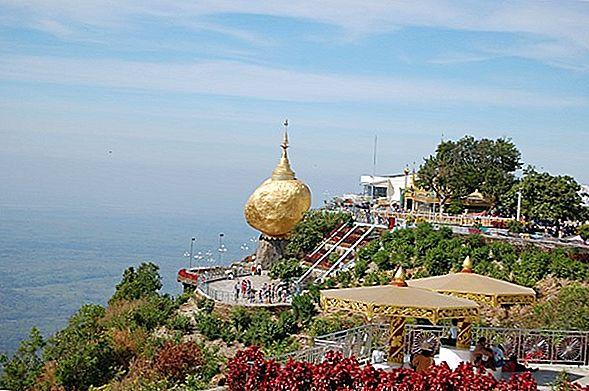 Пагода Kyaiktiyo ака Золотая скала, Мьянма