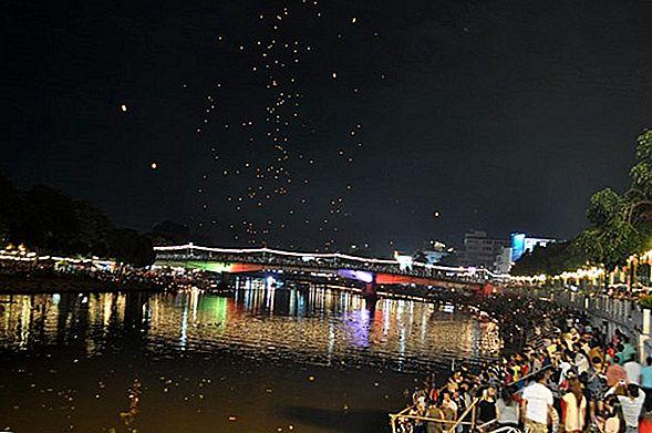 Лой Кратонг и Йи Пенг - путеводитель по фестивалям фонарей в Чиангмае