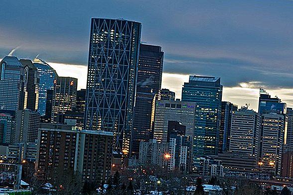 The Calgary Tower - โลกของเราในแคนาดาตะวันตก