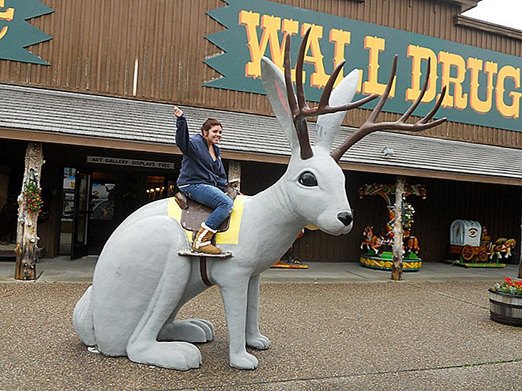 Wall Drug, Wall, Dakota de Sud