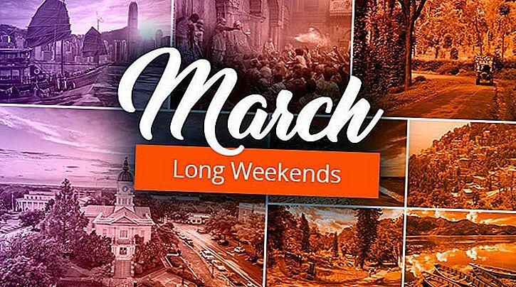 Mars Madness! Reiseideer for å feire de to kommende lange helgene