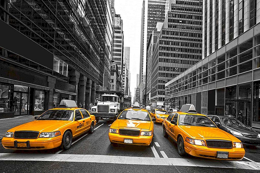 14 strane leggi sui taxi da tutto il mondo