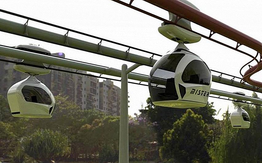 Zukunft der Reise: Gurgaon Pod Taxis zu bekommen