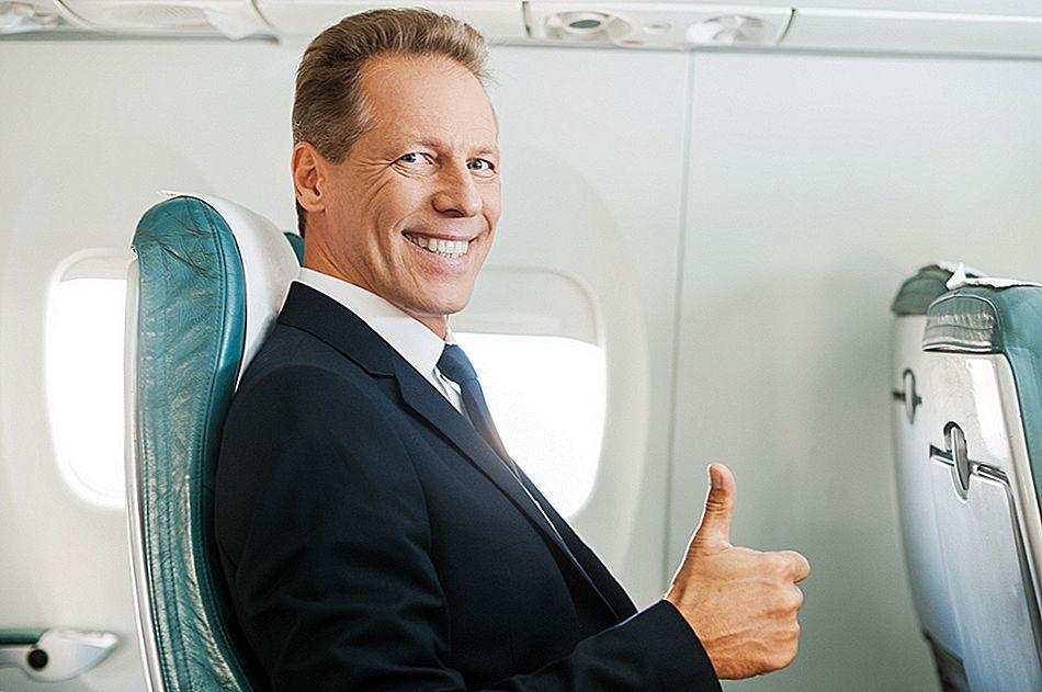 Wie man ein Flug-Upgrade kostenlos erhält