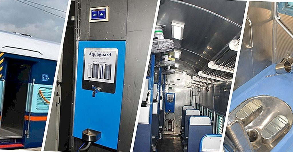 Sneak Peek Inside L'autobus ferroviario più moderno dell'India