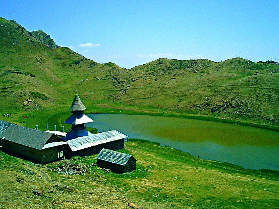 Piscul zeilor: Lacul Bhrigu