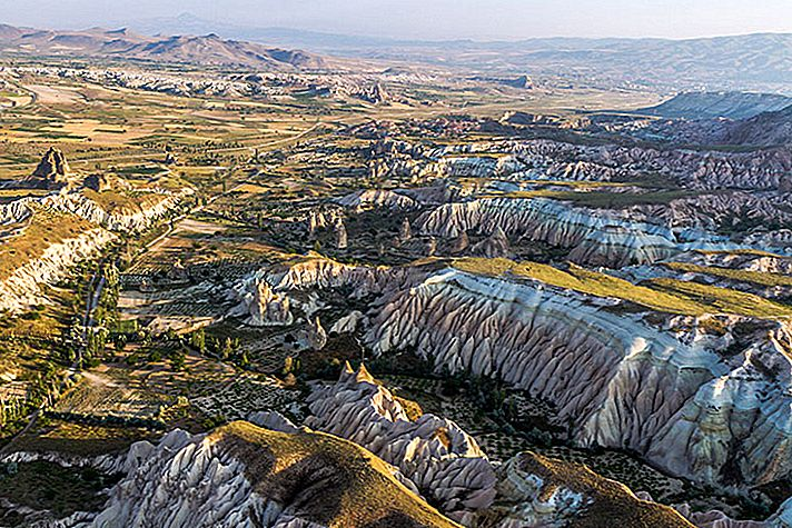 Cappadocia จากพื้นดินและจากฟากฟ้า