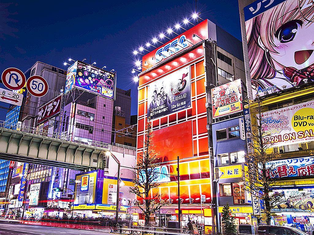 Zona Akihabara din Tokyo: de la electronică la cafenele de serviciu - Lonely Planet