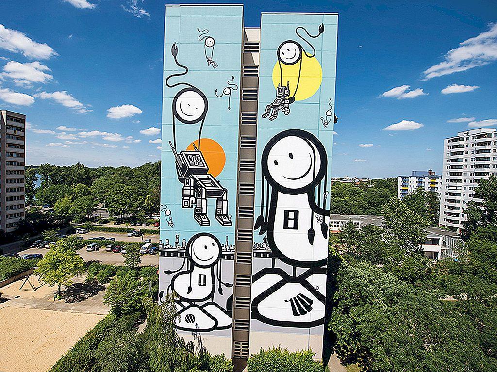 แปดเมืองที่น่าตื่นตาตื่นใจสำหรับศิลปะบนท้องถนน