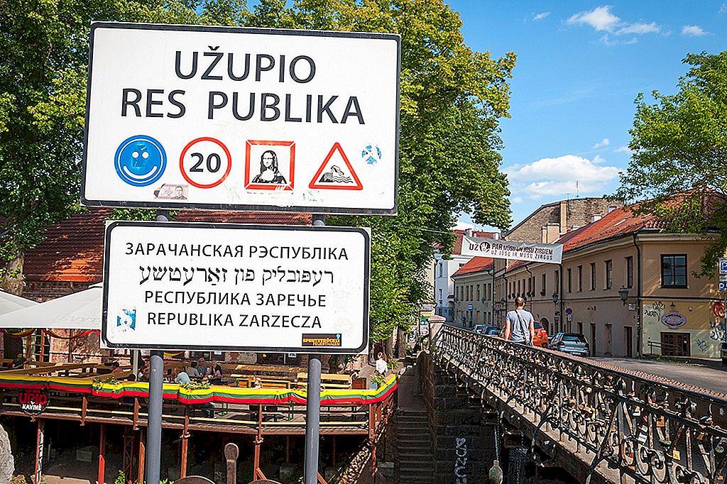 Kreativitet, mat og en grunnlov: å utforske Vilnius 'bohemske Užupis-distrikt