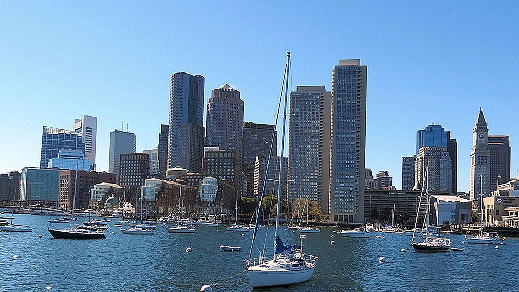 Boston med båt: havn cruise, øyer og hvalsafari