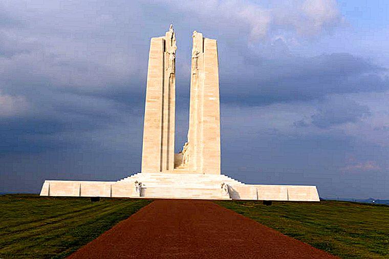 Flamande și dincolo de acestea: site-urile principale ale Primului Război Mondial din Franța