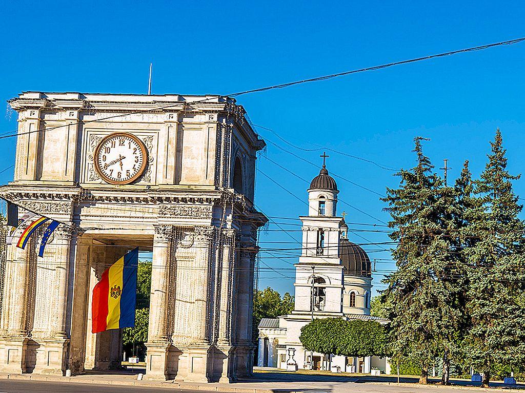 มอลโดวาแบ่งย่อย: สองวันในChişinău