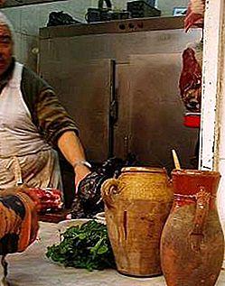 วิธีปรุงอาหารแบบท้องถิ่นบนถนนในโมร็อกโก