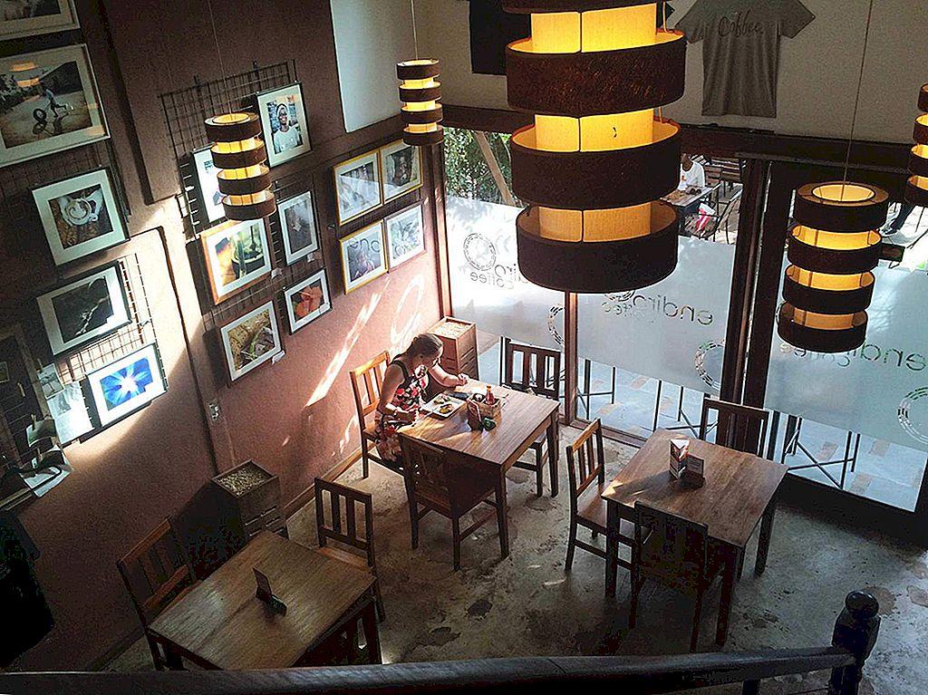 จากฟาร์มไปจนถึงถ้วย: เก้าบ้านกาแฟในกัมปาลา