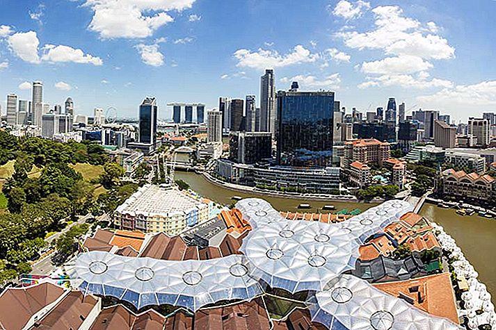 エスケープモール:シンガポールの緑の空間