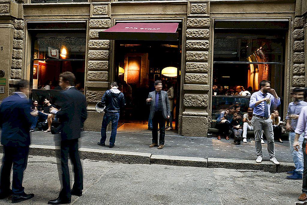 10 จุดที่ดีที่สุดของ Milan สำหรับ aperitivo