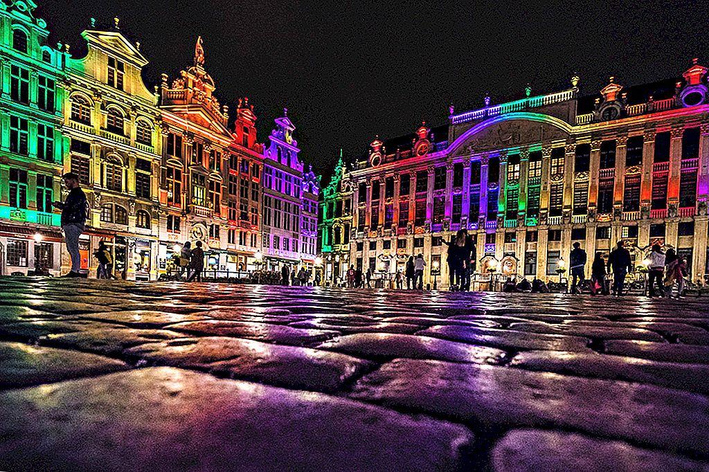 นอกเหนือจาก Rainbow Quarter: คู่มือการ LGBTIQ Brussels