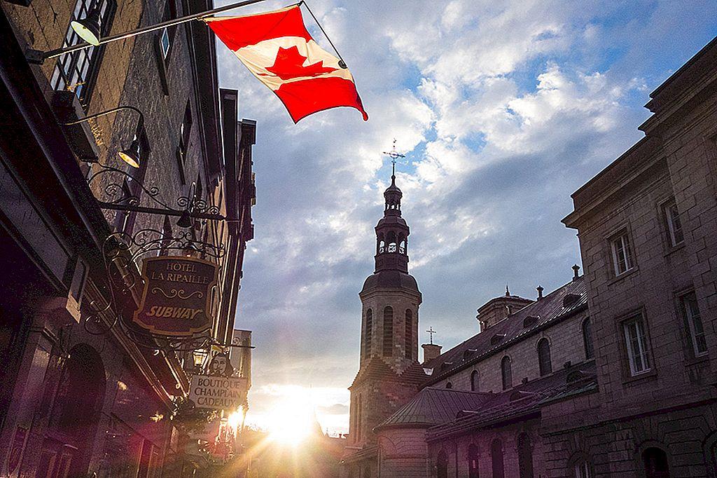 カナダは150歳に変わります:世紀末を祝うためにトップ10の場所
