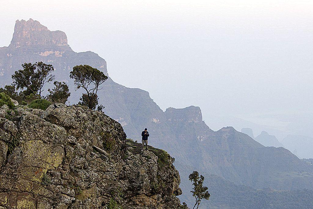 เดินเล่นเทือกเขา Simien ของเอธิโอเปีย