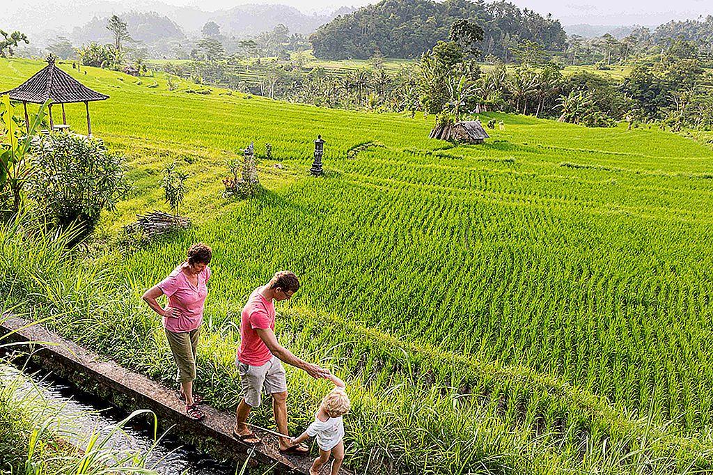 Bali cu copii: șapte lucruri pentru a ține copiii fericiți