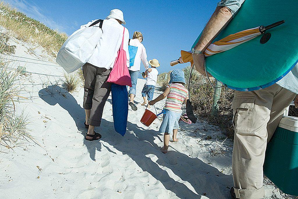 砂漠の砂漠のプリザーブ:モダンな東海岸のビーチ旅行のための梱包