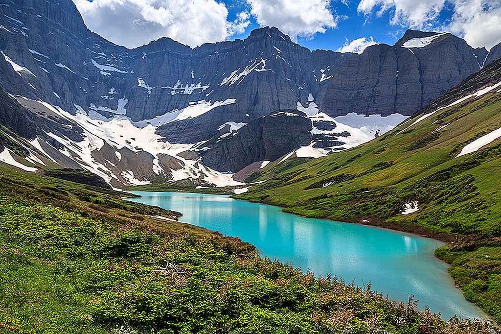 氷河国立公園(列車で)