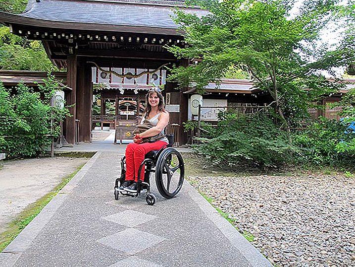 Hvordan reise Japan i rullestol